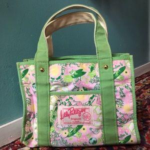 Lilly Pulitzer Originals Small Tote Bag Green